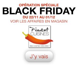 Opération spéciale Black Friday
